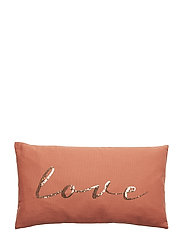 Cushion, Orange, Cotton - ORANGE