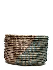 Basket, Multi-color, Seagrass - MULTI-COLOR