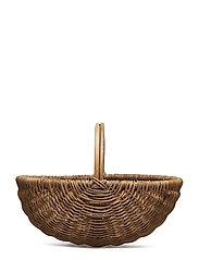 Basket, Nature, Rattan - NATURE