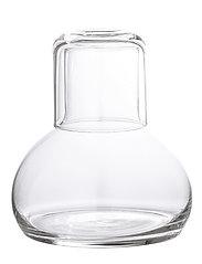 Bloomingville - Sargol Decanter & Glass - viinikarahvit - clear - 1