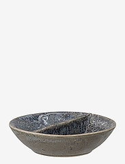 Bloomingville - Aura Serving Bowl - serveringsfat - blue - 0