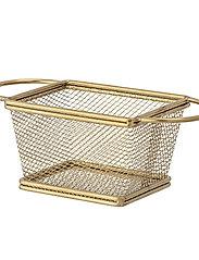Bloomingville - Harold Serving Basket - tarjoilukulhot - gold - 2