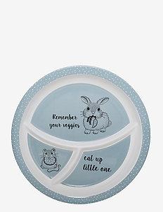 Toby Plate - tallerkener & skåler - blue