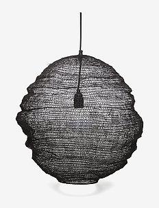 Pendant Lamp, Black, Metal - BLACK