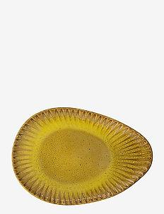 Cala Plate - leipälautaset - yellow