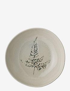 Bea Soup Plate - dype tallerkener - nature