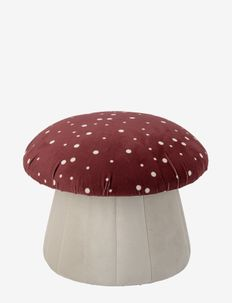 Lue Pouf, Red, Polyester - interiør - red