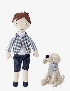 Hilbert Soft Toy Set of 2 - soft toys - multi