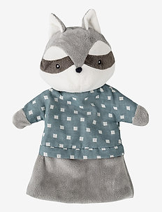 Cecilie Hand Puppet - soft toys - grey