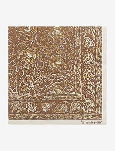 Hati Napkin 20p - servietter - brown