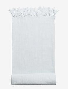 Table Cloth, Blue, Cotton - nappes - blue