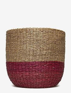Basket, Rose, Seagrass - ROSE