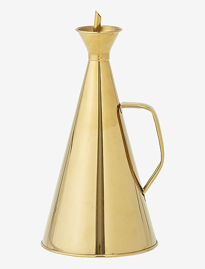 Eskild Oil / Vinegar Bottle - Öljy-, viinietikka- & kastikepullot - gold