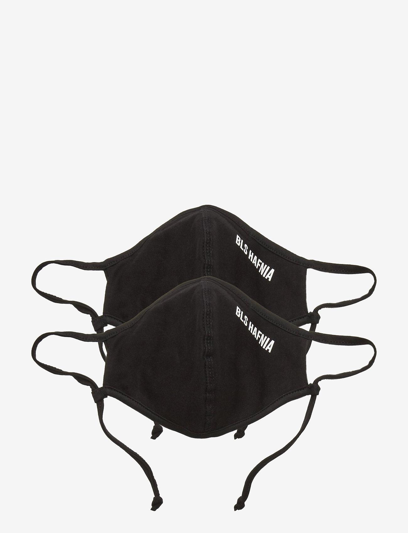 BLS Hafnia - Face Mask - 2 pack - accessoires - black - 0