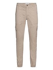 Combat Cargo Pants - BEIGE
