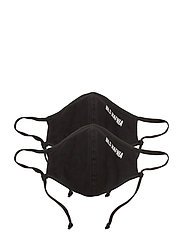 Face Mask - 2 pack - BLACK
