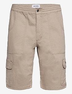 Combat Cargo Shorts - cargo shorts - beige