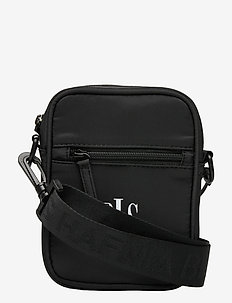Cannes Shoulder Bag - skuldertasker - black
