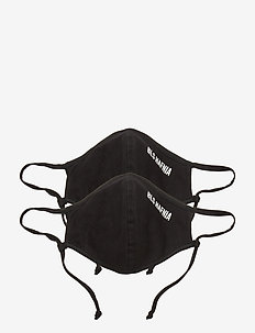 Face Mask - 2 pack - accessories - black