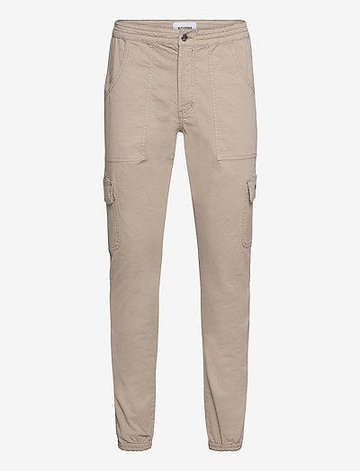 Combat Cargo Pants - cargobyxor - beige