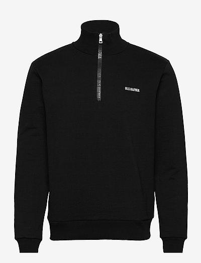 Everest Print Quarter Zip - sweats basiques - black