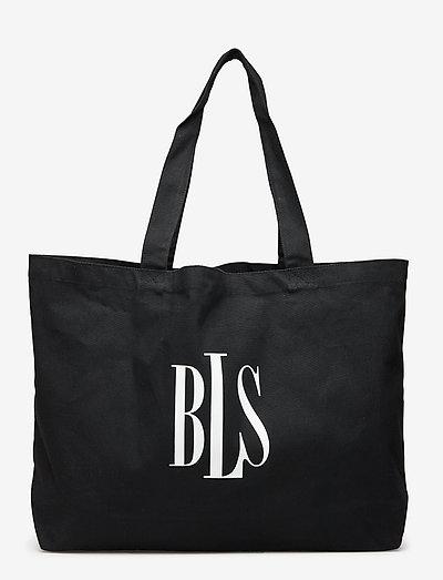 BLS Tote Bag - sacs - black