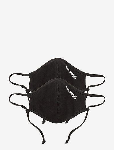 Face Mask - 2 pack - akcesoria - black
