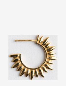 sun hoops - hoops - gold