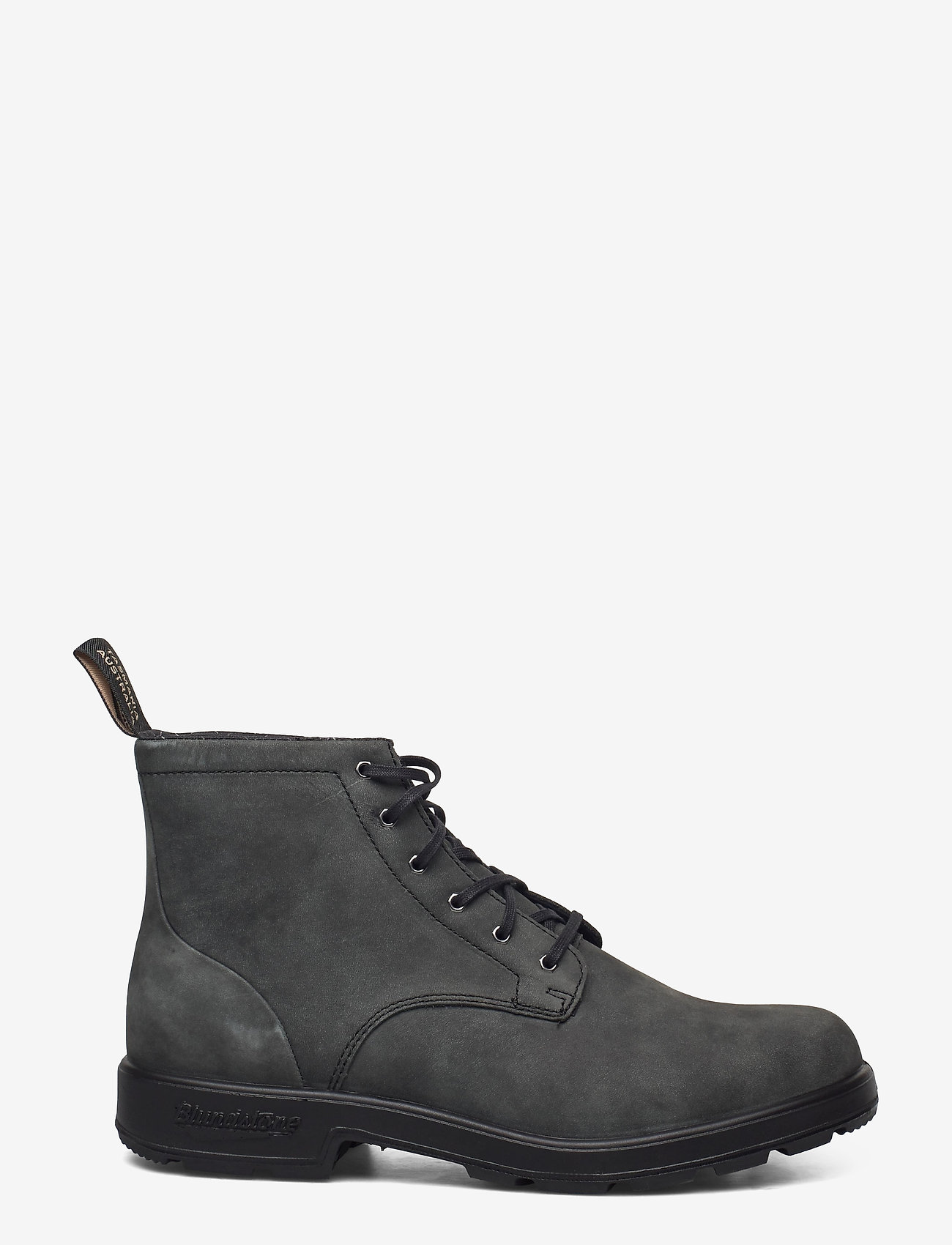 Blundstone - BL LACE UP LEATHER BOOT - med snøring - rustic black - 1