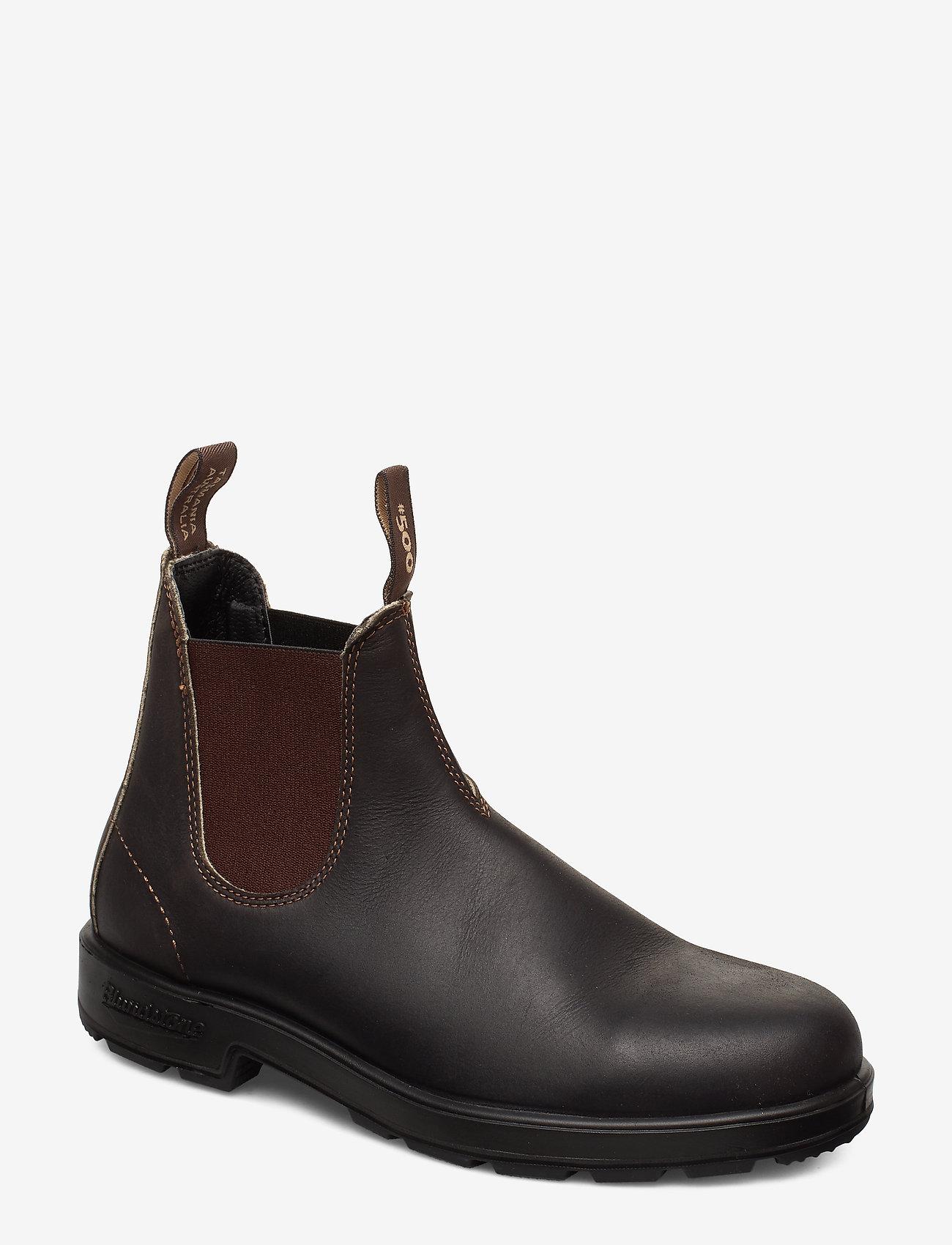 Blundstone - BL CLASSICS (PU/TPU SOLE) - chelsea boots - stout brown premium oil tanned - 0