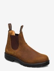 Blundstone - BL CLASSIC COMFORT (PU/TPU SOLE) - chelsea boots - crazy horse brown - 0
