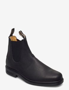 BL DRESS BOOTS (PU/TPU SOLE) - chelsea boots - black premium oil tanned
