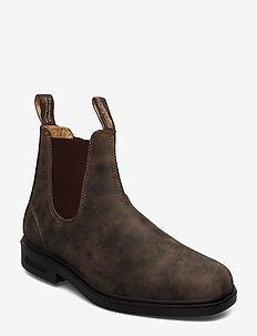 BL DRESS BOOTS (PU/TPU SOLE) - chelsea boots - rustic brown