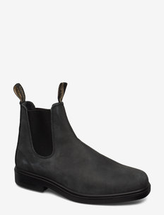 BL DRESS BOOTS - chelsea boots - rustic black