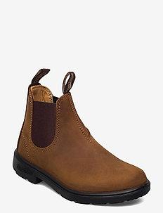 BL KIDS ELASTIC BOOT - boots - crazy horse brown