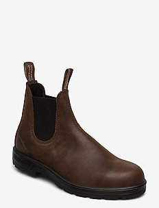 BL CLASSIC COMFORT (PU/TPU SOLE) - chelsea boots - antique brown