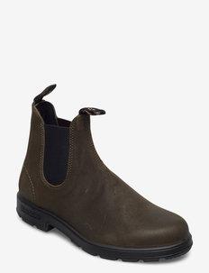 BL CLASSICS (PU/TPU SOLE) - chelsea boots - dark olive