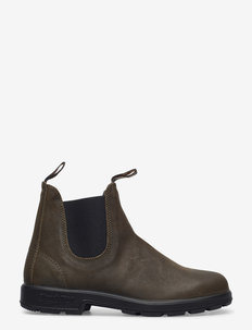 BL CLASSICS - chelsea boots - dark olive