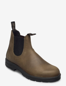 BL ELASTIC SIDED BOOT LINED - chelsea boots - dark green