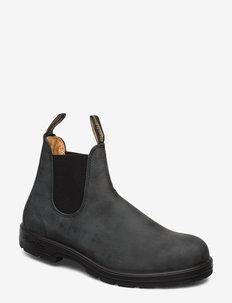 BL CLASSIC COMFORT (PU/TPU SOLE) - chelsea boots - rustic black