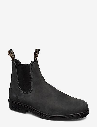 BL DRESS BOOTS - chelsea boots - rustic black