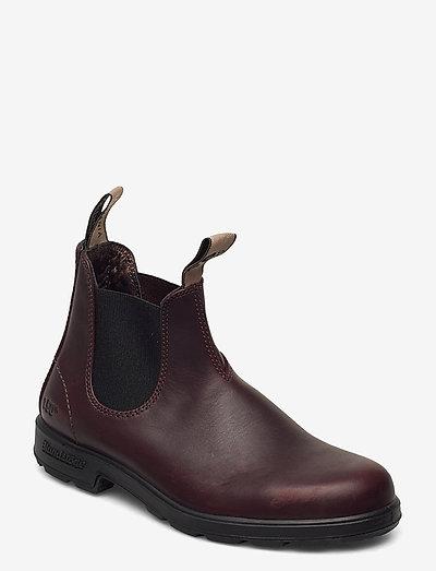 BL ANNIVERSARY BOOT - chelsea støvler - burgundy