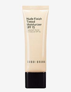 Nude Finish Tinted Moisturizer SPF15, Light to Medium - LIGHT TO MEDIUM