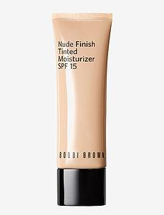 Nude Finish Tinted Moisturizer SPF15, Porcelain Tint - PORCELAIN TINT