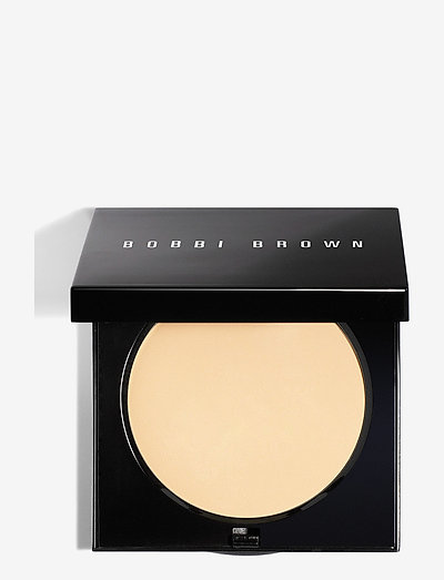 Sheer Finish Pressed Powder, Pale Yellow - pudder - pale yellow