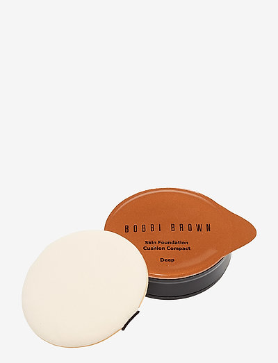 Skin Foundation Cushion Compact Refill, Deep - foundation - deep