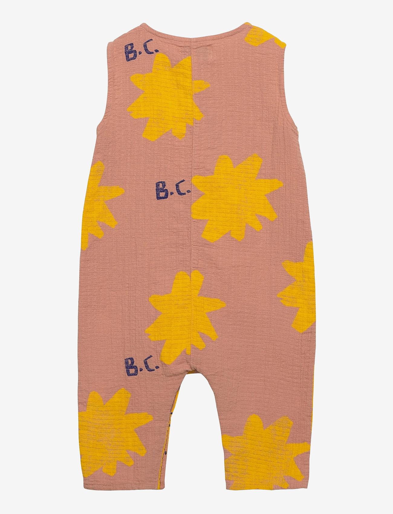 Bobo Choses - Sparkle All Over Woven Overall - kurzärmelig - dusty pink - 1