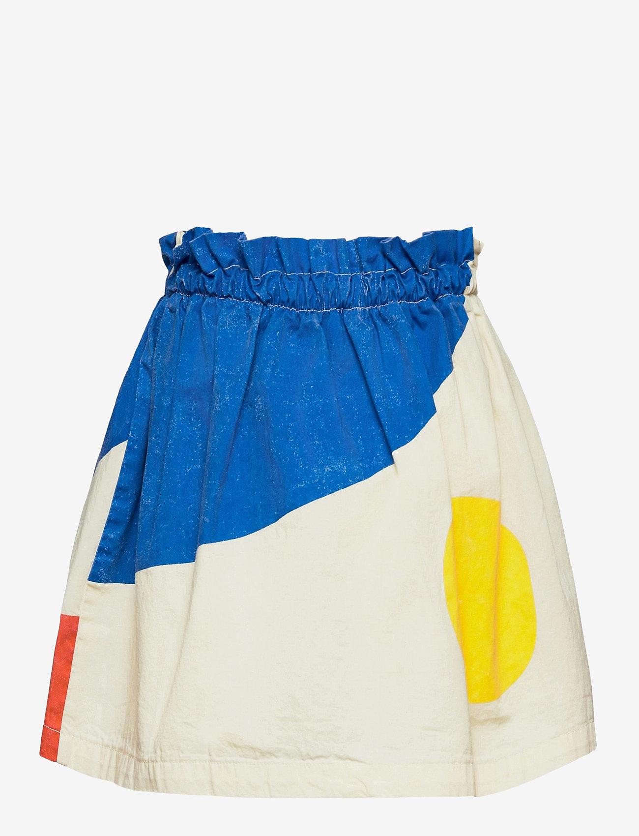 Bobo Choses - Landscape Woven Skirt - röcke - white swan - 1