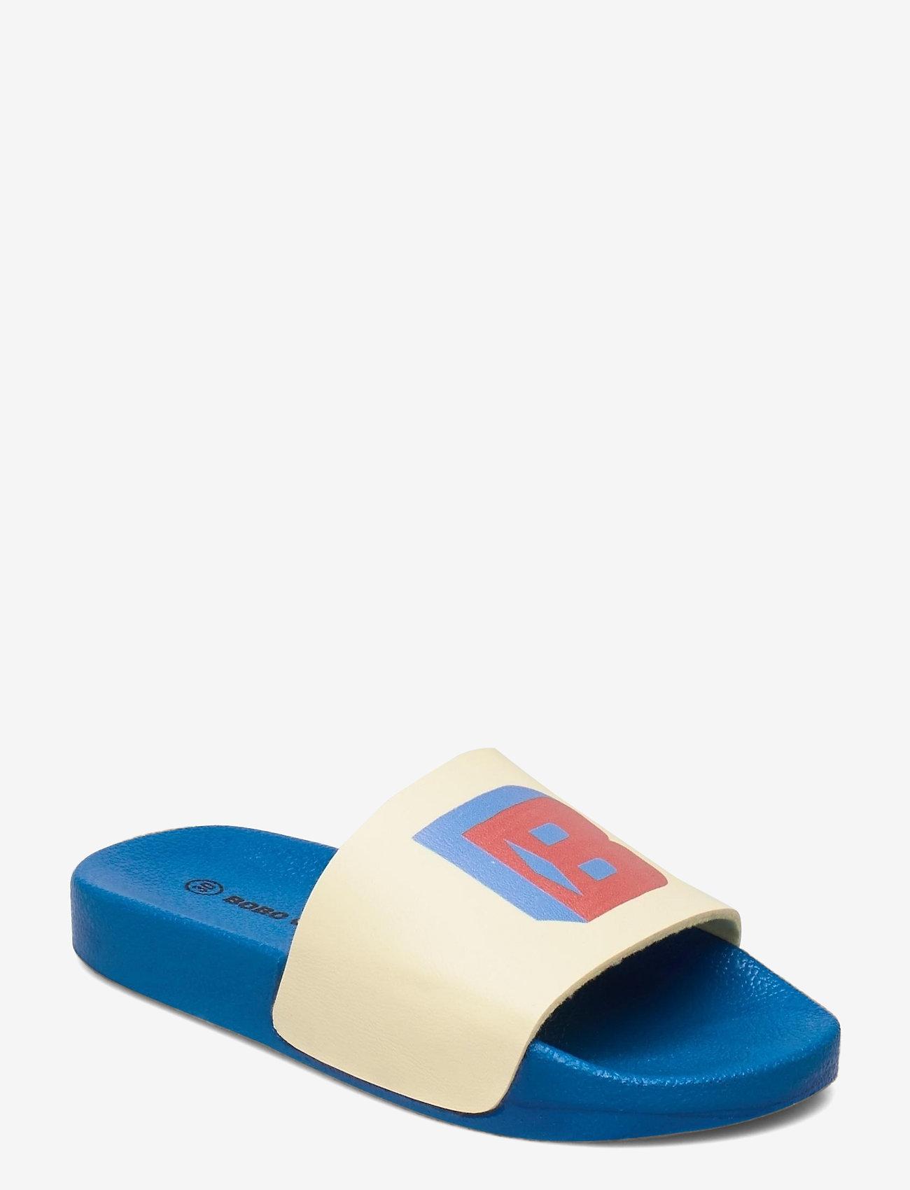 Bobo Choses - B.C Slide Sandals - pool sliders - custard - 0