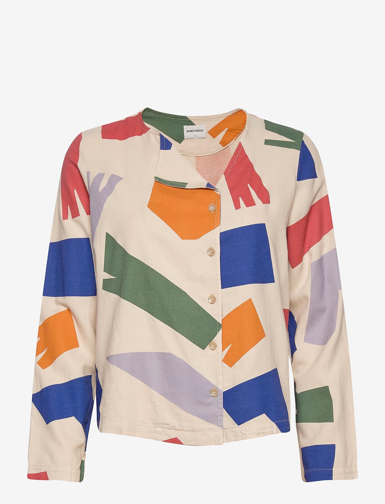 Bobo Choses - Shadows Shirt - chemises à manches longues - brown rice - 1